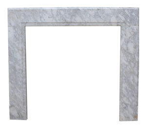 18th Century Carrara Marble Chimneypiece