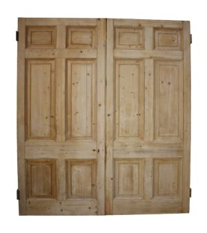 A Set of Reclaimed Regency Period Double Doors