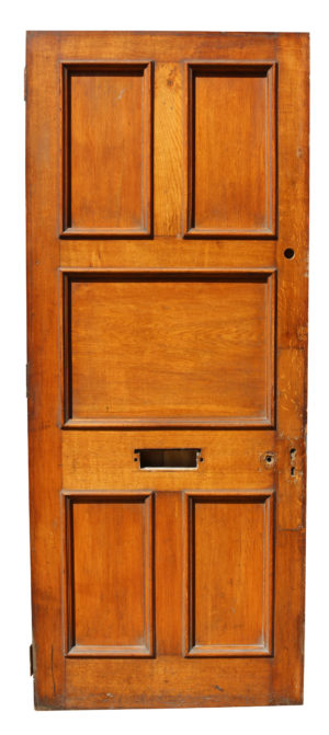 A Reclaimed Oak Exterior or Front Door