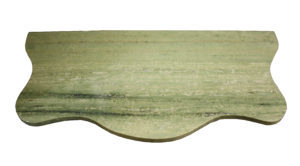 A Reclaimed Swedish Green Marble Table Top