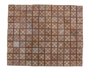 128 x Antique Encaustic Tiles by White of Coalvile