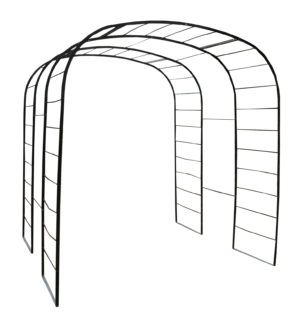 A Victorian Wrought Iron Rose Arch or Arbour
