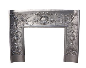 A Finely Cast 19th C. French Fire Insert