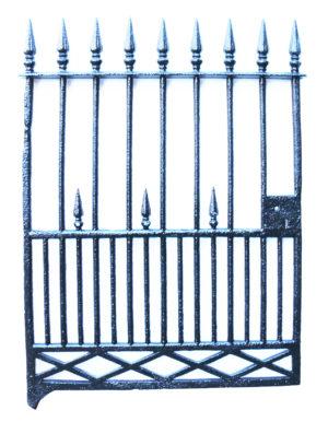 An Antique Cast Iron Pedestrian Gate