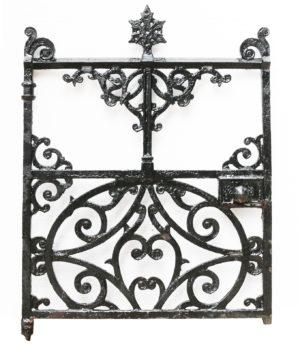 A Victorian Cast Iron Pedestrian Gate