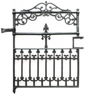 A Victorian Cast Iron Gate