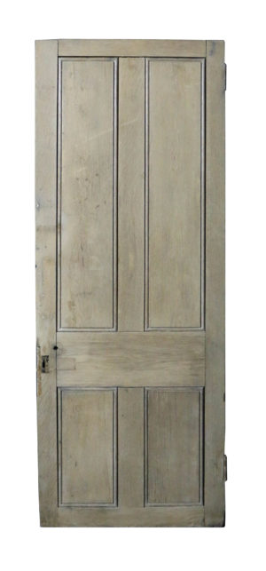 Solid Oak Four Panel Interior / Exterior Door