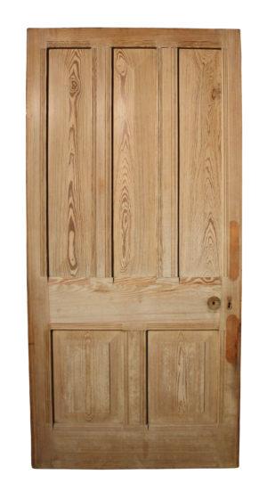 A Reclaimed Victorian Style Front Door
