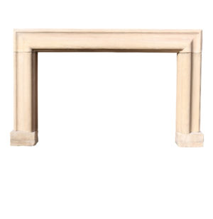 George III Limestone Bolection Fire Surround