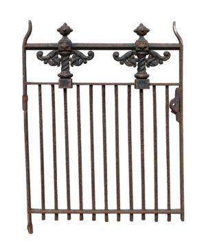 A Victorian Cast Iron Side Gate