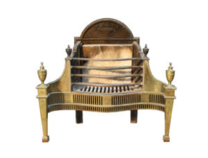 An Antique George III Style Fire Grate by Thomas Elsley