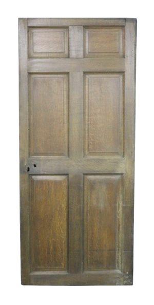 A Reclaimed Early 19th Century Oak Front Door