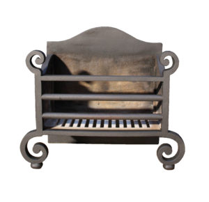 A Reclaimed Antique Cast Iron Fire Grate