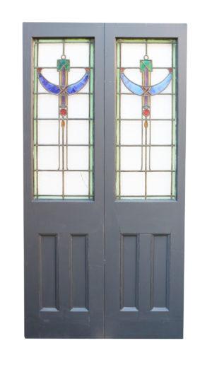 A Set of Reclaimed Exterior Double Doors