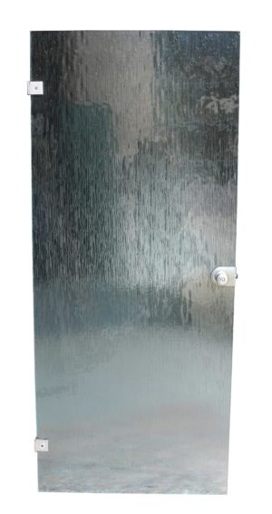 A Set of Three 1960s Obscured Glass Doors