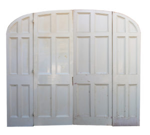 A Set of Four Reclaimed Arched Room Dividing Doors