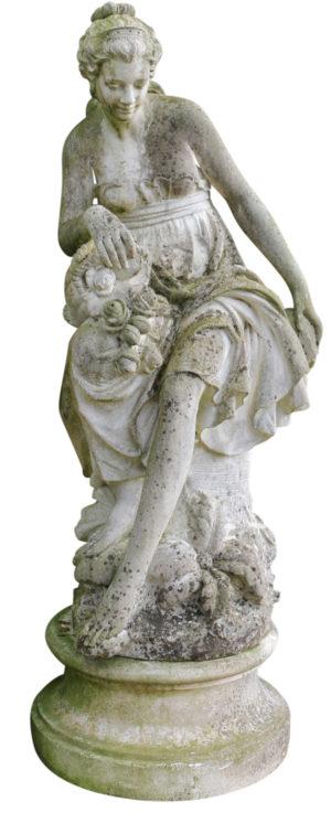 Life-size Stone Garden Statue of Venus