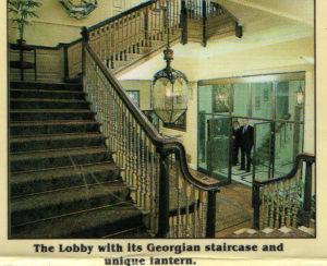 Grand Georgian Style Staircase C. 1900