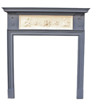 Victorian Pine and Composition Fire Surround