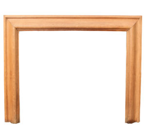 Antique Oak Bolection Style Fire Surround