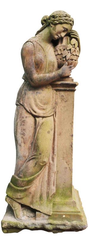 A Life-size Antique Classical Greek Statue of Artemisia