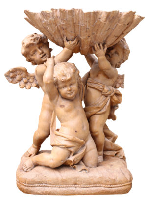 An Italian Baroque Style Putti Statue Group