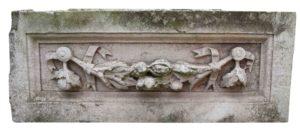 An Antique Carved Portland Stone Plaque or Frieze