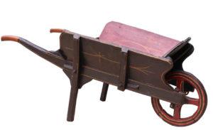 A Victorian Children's Wheelbarrow