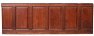 A Run of Antique Reclaimed Oak Panelling 7.3m (24 ft)