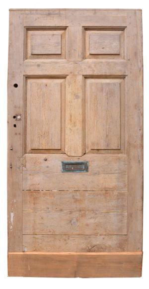 An Antique English Front Door