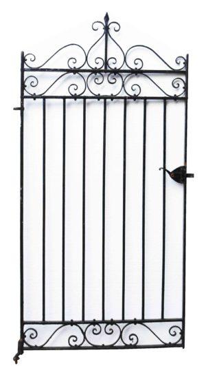 An Antique Wrought Iron Pedestrian Gate