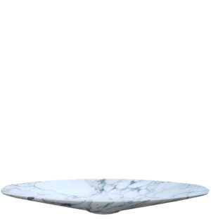 A Modern Italian Carrara Marble Sink or Basin
