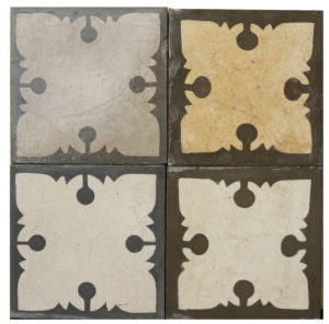 Reclaimed Patterned Encaustic Floor Tiles 8 m2 (86 sq ft)