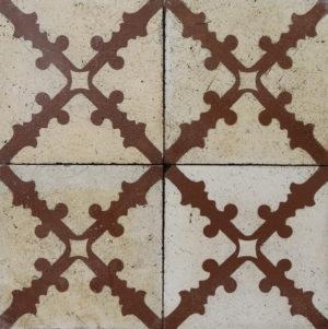 Reclaimed Patterned Encaustic Floor Tiles 19.2 m2 (206 sq ft)