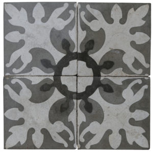 Reclaimed Patterned Encaustic Floor Tiles 3.6 m2 (38 sq ft)