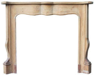 A Reclaimed Louis XV Style Fire Surround