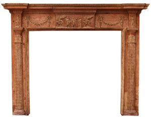 A George III Neoclassical Fire Surround