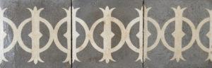 15 Reclaimed Patterned Border Tiles for Floors or Walls