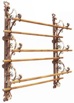 An English Country House Game Hanging Rack