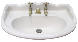 A Reclaimed George Jennings Sink or Wash Basin