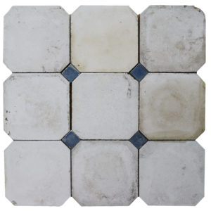 Reclaimed Cabochon Flooring or Floor Tiles 7.3 m2 (78 sq ft)