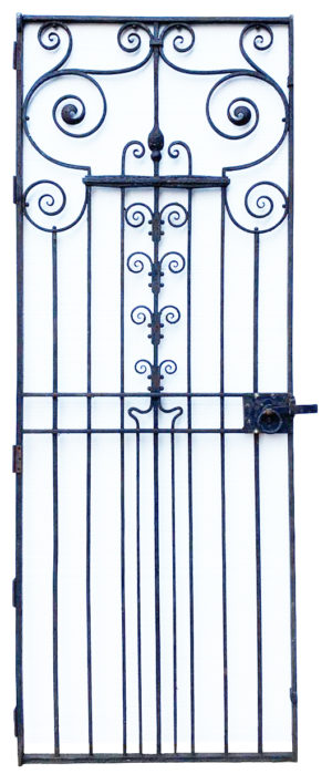 A 19th Century Wrought Iron Pedestrian Gate