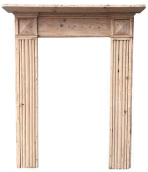 A Small Reclaimed Regency Period Fire Surround