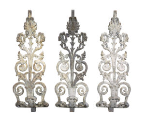 Decorative Reclaimed Staircase Balustrades or Balcony (21 Pieces)