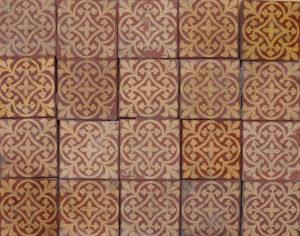 Reclaimed Godwin Hereford Encaustic Floor Tiles
