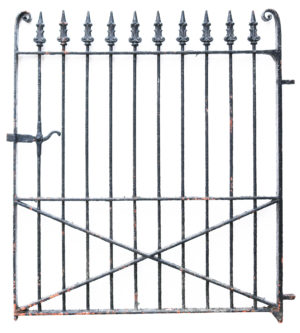 A Reclaimed Wrought Iron Garden Gate