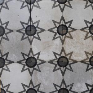 Reclaimed Patterned Encaustic Floor Tiles 5.55m2 (59 ft2)