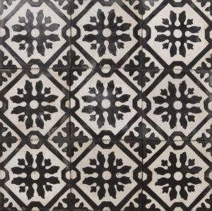 Reclaimed Patterned Encaustic Floor Tiles 6.64m2 (71 ft2)