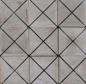 Reclaimed Cement Patterned Floor or Wall Tiles 3.2 m2 (34 sq ft)