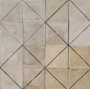 Reclaimed Cement Patterned Floor or Wall Tiles 3 m2 (32 sq ft)